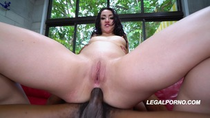 First time to LP Juicy sweet ass Mandy Muse in a beautifull DP full of gapes and balls deep action AA029 small screenshot