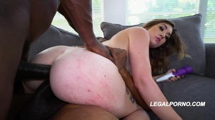 You gotta see Kat Monroe's first nasty BBC DP one nasty fucking kat AA031 small screenshot
