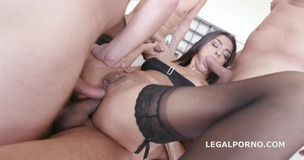 Hot Middle East Latoya Devi gets Balls Deep DP & DAP /DV /DAPV /Facial GIO213 small screenshot