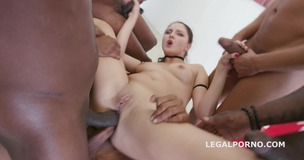 Black Busters, 5on1 Francesca Dicaprio DP /DAP /ball deep /FACIAL She wants BBC gang bang GIO235 small screenshot