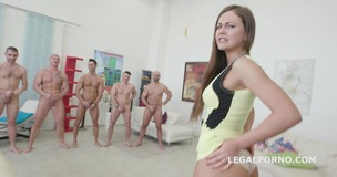 7on1 Double Anal GangBang with Tina Kay No Pussy /Balls Deep Anal /DAP /12 Swallow /No doubt she is a pro slut! GIO333 small screenshot