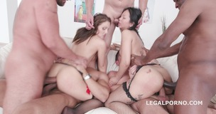 Jureka Del Mar Total Degrading Part 2 with Dominica Phoenix - Massive DAP fucking with more anal madness GIO395 small screenshot