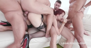 Dap Destination with Victoria J, Balls Deep Anal / DP / DAP / GAPES / Facial GIO443 small screenshot