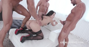 Total DAP Destruction with Angie Moon, almost only DAP with TP / TAP / Tunnel Vision / Balls Deep Anal / Gapes / Swallow GIO427 small screenshot