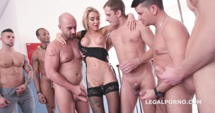 Katrin Tequila 10on1 Double Anal Gangbang / Balls Deep Anal / ATM / 10 SWALLOWs - Fuck she is so good!!! GIO541 small screenshot