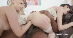 Generational Creampie Kira Thorn Vs Sofia Star, BBC Balls Deep Anal, DAP, Big Gapes, Creampie Cocktail GIO761 small screenshot