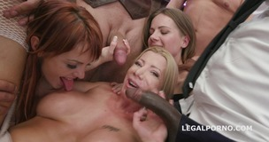 Happy B-day Lara De Santis! anal madness party with squirt cocktail, balls deep anal, DAP, TP, anal fisting GIO836 small screenshot