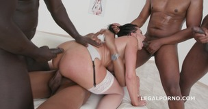 Waka Waka Blacks are Coming, Texas Patti gets 4 BBC with balls deep anal, DAP, Gapes, Messy Cumshot GIO745 small screenshot