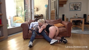 Busty Wife Victoria Summers gets interracial Throat Fuck to the Balls GP015 small screenshot