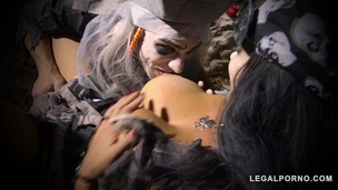 Zombie Pirate Alison Tyler Rides Massive Dick With Her Shaved Juicy Pussy GP105 small screenshot