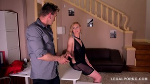 Submissive bombshell Helena Valentine dominated & ass fucked in handcuffs GP250 small screenshot