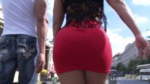 Monica Santiago picked up in the street for rough anal fucking with DP & DVP (double pussy) SZ1477 small screenshot