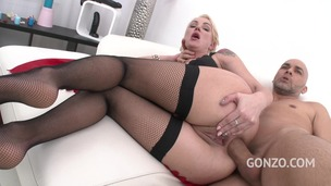 Iskra - sexy MILF double anal training SZ1656 small screenshot