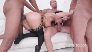 Veronica Avluv insane anal fucking with DP, DAP, DVP & triple penetration SZ2119 small screenshot