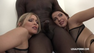 Cristina Tess & Samantha Joons - those two bitches have real passion for big black cock IV044 small screenshot