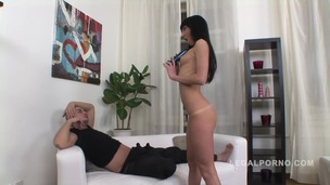 Awesome anal with skinny slut Sofi NR196 small screenshot