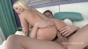 Anal with blonde slut Nataly NR348 small screenshot