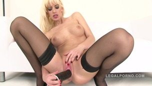 Bella Morgan masturbates with big dildos NR308 small screenshot