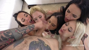 Sineplex orgy 5on5 with Samantha Rone, Angie Moon, Kerry Cherry, Jenn Stefani & Megan Moss RS263 (PART 2) small screenshot