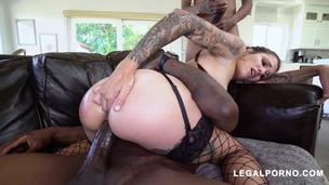 You have to see this! Luna Lovely with 4 HUGE cocks taking it like the awesome slut she is AA048 small screenshot