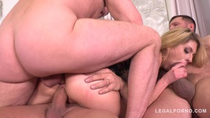 Ultra Nympho Rebecca Volpetti gets the Anal Gangbang of her Dreams FS039 small screenshot