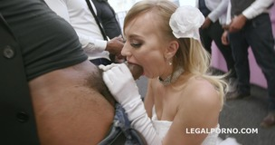 Slammed brides, Kira Thorn No Pussy, Balls Deep Anal and DAP, Gapes, Swallow GIO889 small screenshot