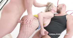 Manhandle! Dee Williams gets rough 4on1 Balls Deep Anal, DAP, Swallow GIO1054 small screenshot