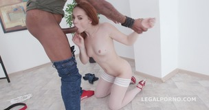 Balls Deep, Red Linx meets Dylan Brown for Anal Session with Gapes, Creampie and Swallow GIO1202 small screenshot