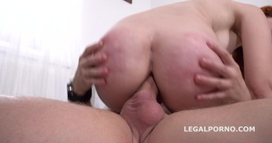 Mr. Anderson's Anal Casting with Gisha Forza Balls Deep Anal, Gapes, Rough Sex, Cum in mouth GL068 small screenshot