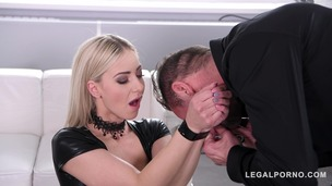 Fetish porn with Natalie Cherie packed with spanking, whips & anal banging GP434 small screenshot