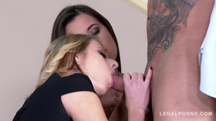 XXX orgy with Cindy Loarn & Vicky Love & Aria Logan makes you squirt instantly GP446 small screenshot