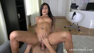 POV hardcore fucking during job interview with athletic bombshell Lexi Dona GP763 small screenshot