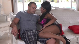 Black sex goddess Kiki Minaj fists herself & gets fucked in all possible ways GP910 small screenshot