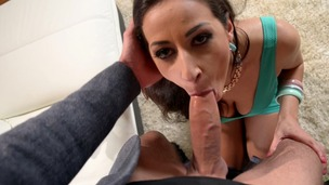 Voracious European girl Martina Gold fucked in the ass by horny reporter GP964 small screenshot