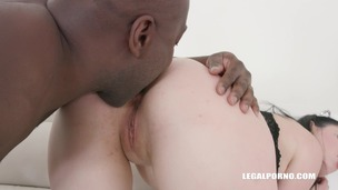 First anal and first black cock for Isabel Diamond IV295 small screenshot