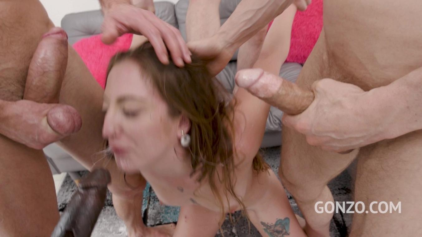 LegalPorno - Gonzo_com - Venom Evil anal fucking 4on1 with intense double penetration SZ2465