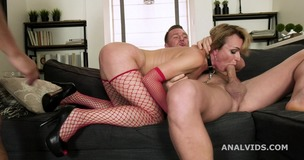 Cherry Aleksa Wet Welcome to Porn with Balls Deep Anal, DP, Pee and Swallow GL244 small screenshot