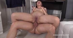Mr. Anderson's Anal Casting Abby welcome to Porn with Balls Deep Anal, Gapes and Cum in Mouth GL259 small screenshot