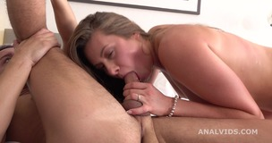 Anal Casting, Milady welcome to porn with Balls Deep Anal, Gapes and Swallow GL252 small screenshot