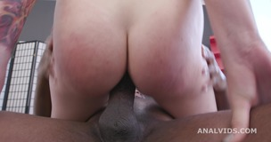 Black Pee, Bree Haze 2on1 BBC with Balls Deep Anal, DAP, Destroyed Ass, Pee drink and Cum on Eyes GIO1513 small screenshot