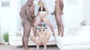 Nicole Love is back to drink african champagne and take 2 BBC in the ass IV512 small screenshot