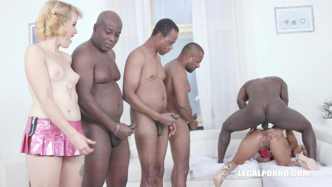 Download LegalPorno - Interracial Vision - Lolly Glam gets 2 cocks in the ass and anal fisting IV519