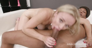Balls Deep, Lily Joy Vs Dylan Brown, Balls Deep Anal, Gapes and Swallow GL323 small screenshot