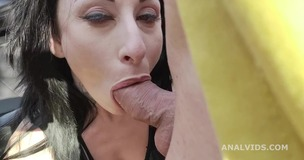 Italian Milf Federica Ferrari gets Marco Nero with Balls Deep Anal and Messy cumshot GL314 small screenshot