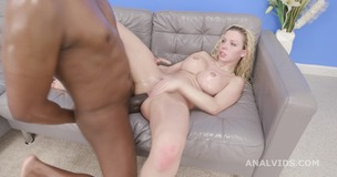 2on1 DP with BBC for Barbie Sins, Balls Deep Anal, Gapes, ATM, ButtRose, Squirt and Creampie Swallow GIO1639 small screenshot