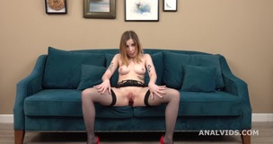 Lulu First BBC, with Balls Deep Anal, Gapes and Cum in Mouth GL366 small screenshot