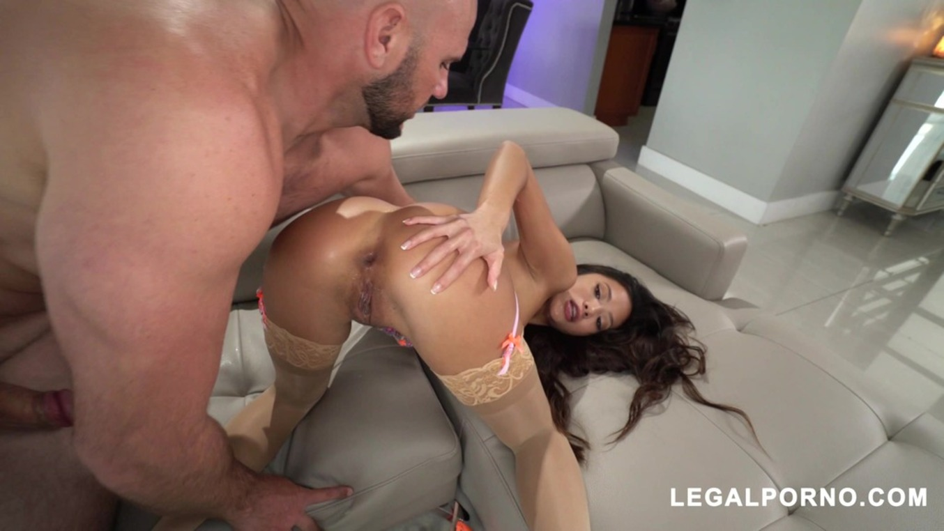 LegalPorno - American Anal - We're back with a small horny girl who can take her fist in her Hole! Vina Sky does not disappoint AA062