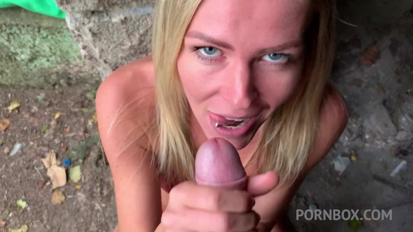 LegalPorno - Outside the Studio - Sexy girlfriend Claudia Mac fucked in the street OTS021