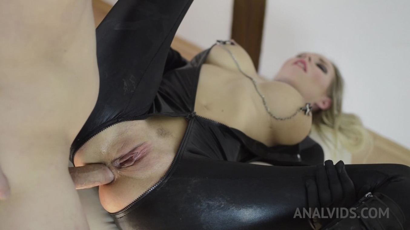 LegalPorno - NF Studio - BDSM anal fucking with Florane Russell in a catsuite OTS188