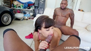 Legendary MILF Lisa Ann Receiving DP From Prince Yahshua & Rico Strong AB small screenshot
